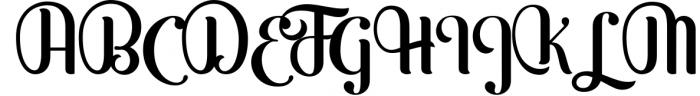 Möfita font 3 Font UPPERCASE