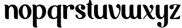 Möfita font 3 Font LOWERCASE