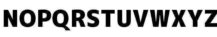 M+ 1c black Font UPPERCASE