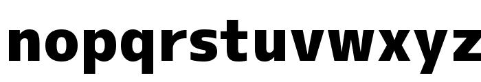 M+ 1c black Font LOWERCASE