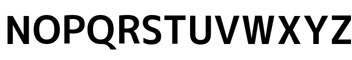 M+ 1c bold Font UPPERCASE