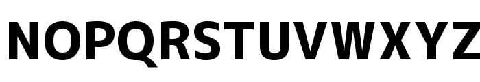 M+ 1c heavy Font UPPERCASE