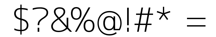 M+ 1c light Font OTHER CHARS