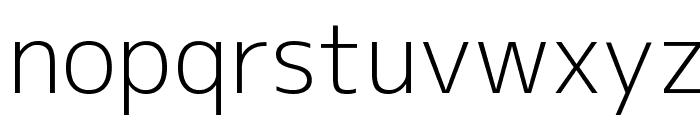M+ 1c light Font LOWERCASE