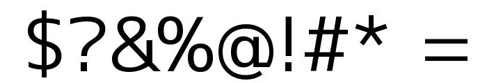 M+ 1c regular Font OTHER CHARS