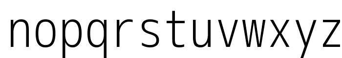 M+ 1m light Font LOWERCASE