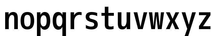M+ 1m medium Font LOWERCASE