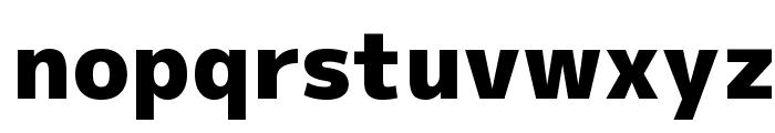 M+ 1p black Font LOWERCASE