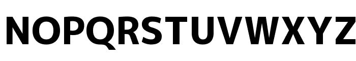 M+ 1p heavy Font UPPERCASE