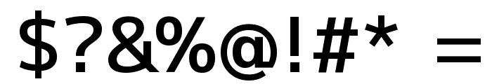 M+ 1p medium Font OTHER CHARS