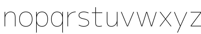 M+ 1p thin Font LOWERCASE