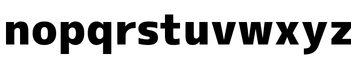 M+ 2c black Font LOWERCASE