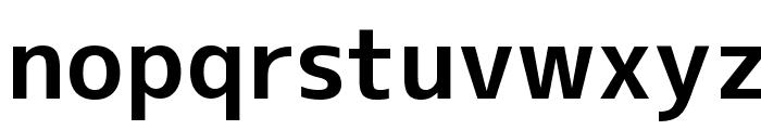 M+ 2c bold Font LOWERCASE