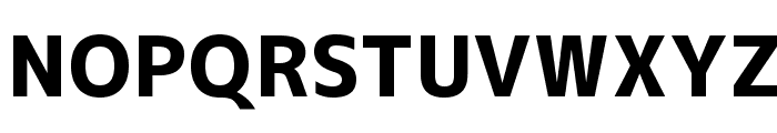 M+ 2c heavy Font UPPERCASE