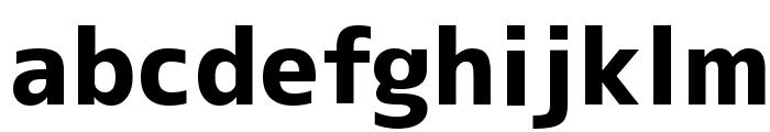 M+ 2c heavy Font LOWERCASE