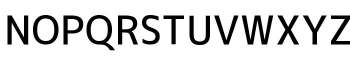 M+ 2c medium Font UPPERCASE