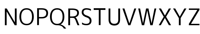M+ 2c regular Font UPPERCASE
