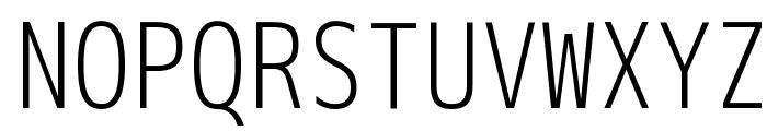 M+ 2m light Font UPPERCASE