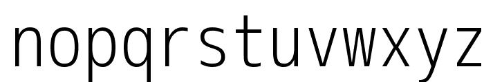 M+ 2m light Font LOWERCASE