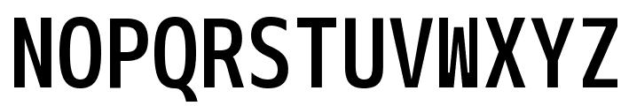 M+ 2m medium Font UPPERCASE