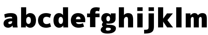 M+ 2p black Font LOWERCASE
