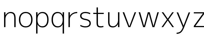 M+ 2p light Font LOWERCASE