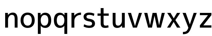 M+ 2p medium Font LOWERCASE