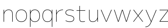 M+ 2p thin Font LOWERCASE