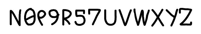 M0N0T3CHN0L0GY2407 Regular Font LOWERCASE
