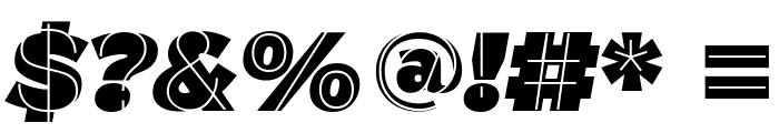 M.F. Plexus Italic Font OTHER CHARS