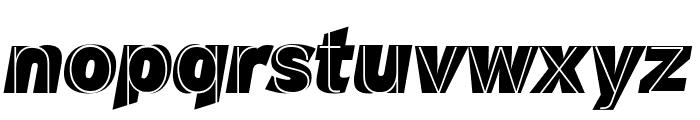 M.F. Plexus Italic Font LOWERCASE