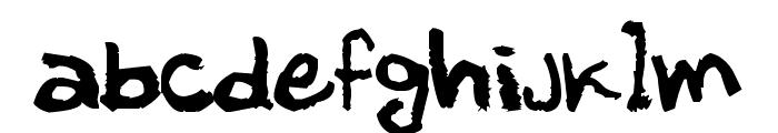M?ller Font LOWERCASE