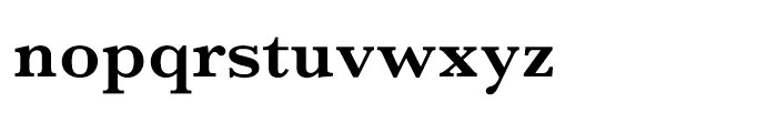 M Sung PRC Xbold Font LOWERCASE