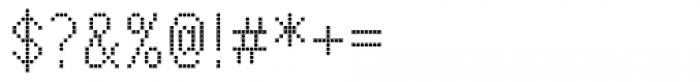 M Bitmap Square HK Light Font OTHER CHARS