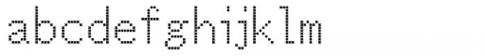 M Bitmap Square HK Light Font LOWERCASE