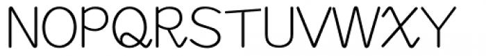 M Felt Pen HK Semi Medium Font UPPERCASE