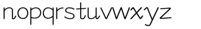 M Felt Pen HK Semi Medium Font LOWERCASE