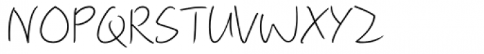 M Ling Wai F HK Light Font UPPERCASE