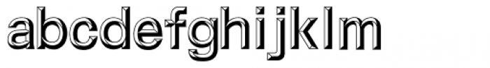 M Metallic Hei HK Bold Font LOWERCASE