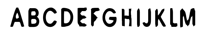 M6 Universelle Font UPPERCASE