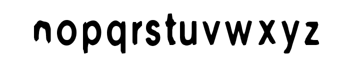 M6 Universelle Font LOWERCASE