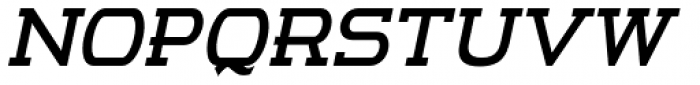 m7 Bold Italic Font UPPERCASE