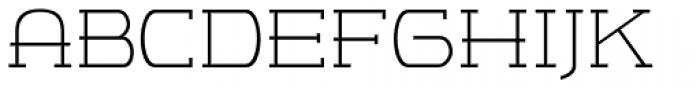 m7 Light Font UPPERCASE