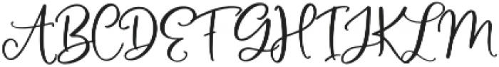 MAC_OhFabulous otf (400) Font UPPERCASE