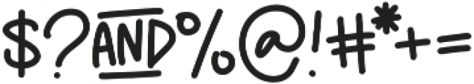 MAC_PencilPusher otf (400) Font OTHER CHARS