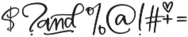 MAC_SwankyScript otf (400) Font OTHER CHARS