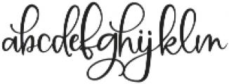 MAC_SwankyScript otf (400) Font LOWERCASE