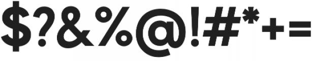 MADE Evolve Sans otf (700) Font OTHER CHARS