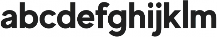MADE Evolve Sans otf (700) Font LOWERCASE