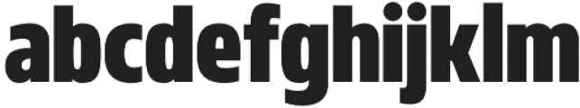 MADE Florence Sans otf (400) Font LOWERCASE